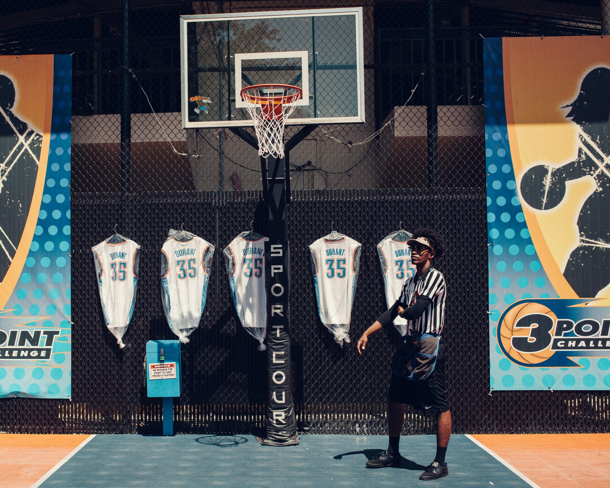 Kevin Durant Day in the Life for Nike. (Photo by Jared Soares)